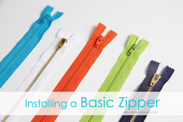 Sewing Hacks   Best Tips and Tricks for Sewing Patterns, Projects, Machines, Hand Sewn Items. Clever Ideas for Beginners and Even Experts   The Best Way Installing A Basic Zipper