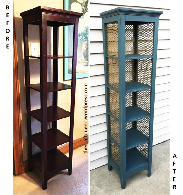 DIY Furniture Makeovers - Refurbished Furniture and Cool Painted Furniture Ideas for Thrift Store Furniture Makeover Projects | Coffee Tables, Dressers and Bedroom Decor, Kitchen | Tiered Shelf | http://diyjoy.com/diy-furniture-makeovers