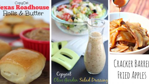 The 50 Best Copycat Recipes Ever! | DIY Joy Projects and Crafts Ideas
