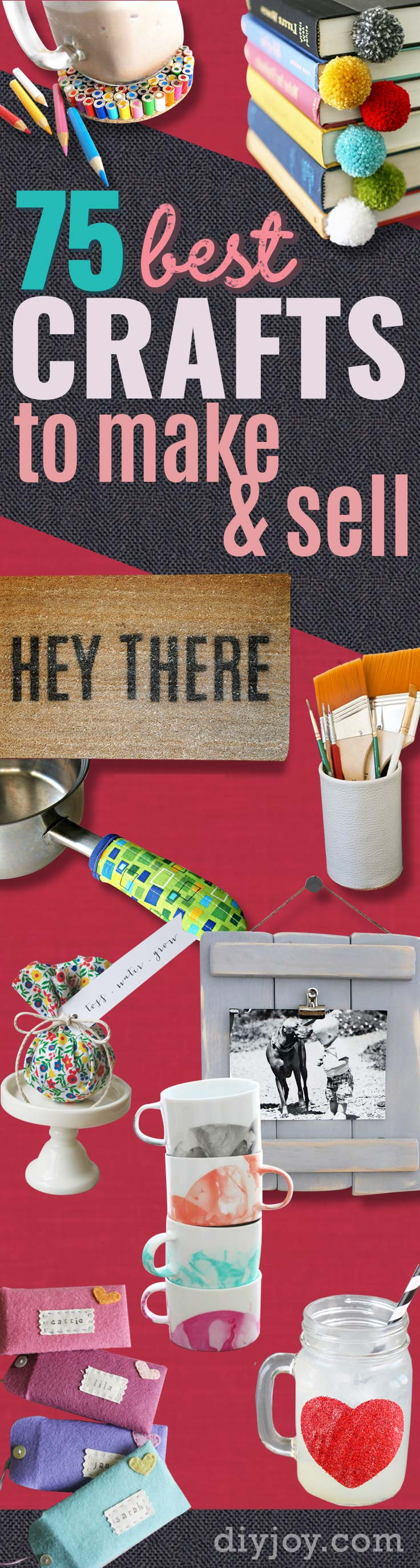 Brilliant Crafts To Make And Sell Diy Joy