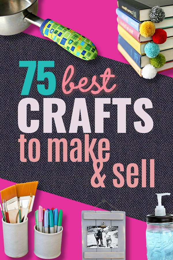 76 Crafts To Make and Sell - Easy DIY Ideas for Cheap Things To Sell on Etsy, Online and for Craft Fairs. Make Money with These Homemade Crafts for Teens, Kids, Christmas, Summer, Mother's Day Gifts. #diy #craftstomakeandsell #crafts #craftstosell #cheapcrafts #craftideas #etsyideas diyjoy.com/crafts-to-make-and-sell