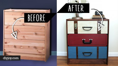 "36 ""As Creative As It Gets"" DIY Furniture Makeovers 