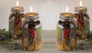 How To Make These Amazing Mason Jar Oil Candles