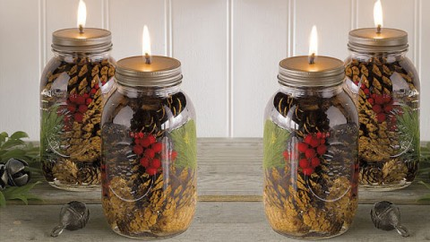 How To Make These Amazing Mason Jar Oil Candles | DIY Joy Projects and  Crafts Ideas