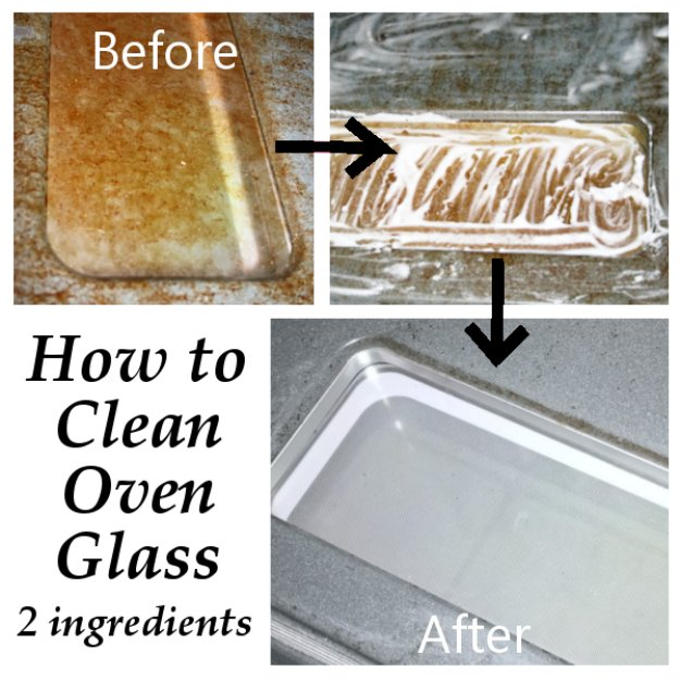Best Natural Homemade DIY Cleaners and Recipes - 2 Ingredients Oven Glass Homemade Cleaner - All Purposed Home Care and Cleaning with Vinegar, Essential Oils and Other Natural Ingredients For Cleaning Bathroom, Kitchen, Floors, Laundry, Furniture and More