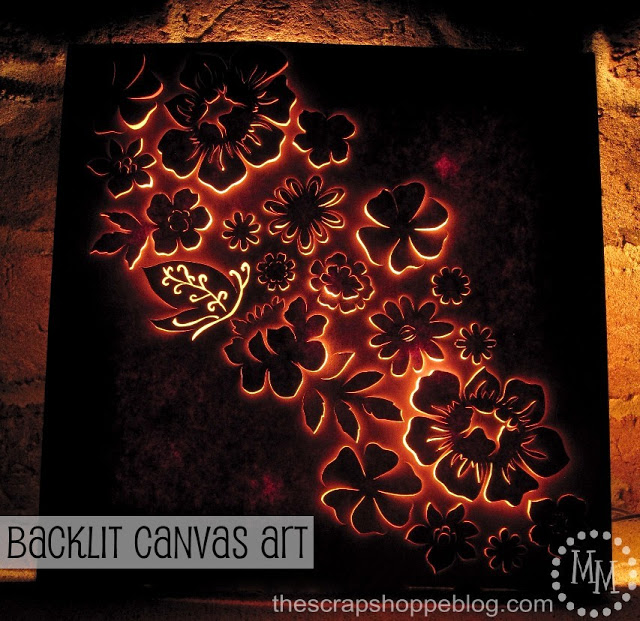DIY Wall Art Ideas and Do It Yourself Wall Decor for Living Room, Bedroom, Bathroom, Teen Rooms | Backlit Canvas Wall Art | Cheap Ideas for Those On A Budget. Paint Awesome Hanging Pictures With These Easy Step By Step Tutorial