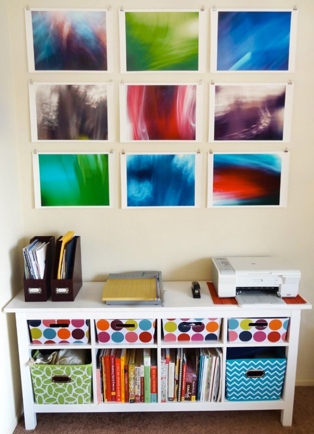 DIY Wall Art Ideas and Do It Yourself Wall Decor for Living Room, Bedroom, Bathroom, Teen Rooms | DIY Abstract Wall Art | Cheap Ideas for Those On A Budget. Paint Awesome Hanging Pictures With These Easy Step By Step Tutorials and Projects | http://diyjoy.com/diy-wall-art-decor-ideas