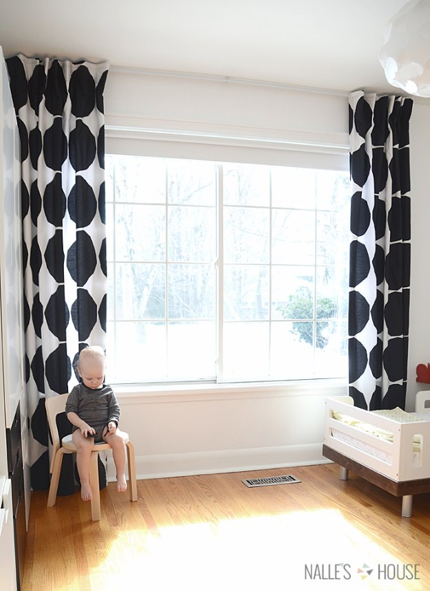 Sewing Projects for The Home - DIY Bed Sheet Curtains - Free DIY Sewing Patterns, Easy Ideas and Tutorials for Curtains, Upholstery, Napkins, Pillows and Decor #homedecor #diy #sewing