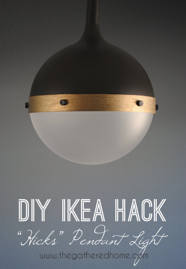 IKEA Hack and DIY Ideas for Furniture - Room Decor DYI Projects and Home Decor - Creative and Cheap Bedroom, Living Room and Kitchen Furniture