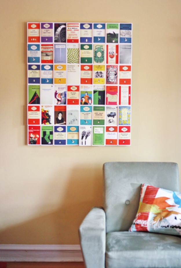 DIY Wall Art Ideas and Do It Yourself Wall Decor for Living Room, Bedroom, Bathroom, Teen Rooms | DIY Postcard Wall Art | Cheap Ideas for Those On A Budget. Paint Awesome Hanging Pictures With These Easy Step By Step Tutorial