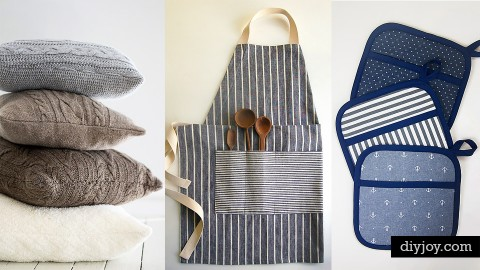 72 Sewing Projects for the Home | DIY Joy Projects and Crafts Ideas