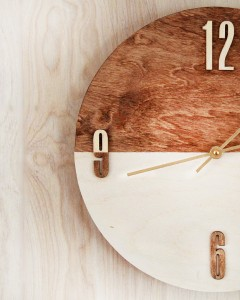 Expensive Looking Diy Wedding Gift Ideas Diy Wood Stained Clock