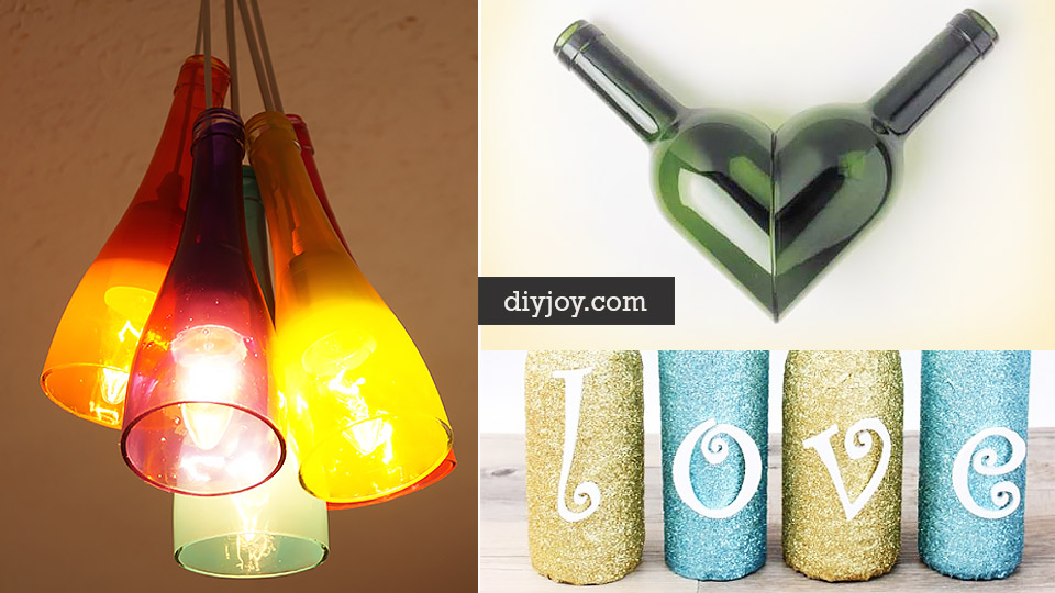 37 Amazing Diy Wine Bottle Crafts