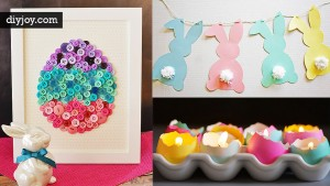 48 DIY Easter Decorations To Make Right Now