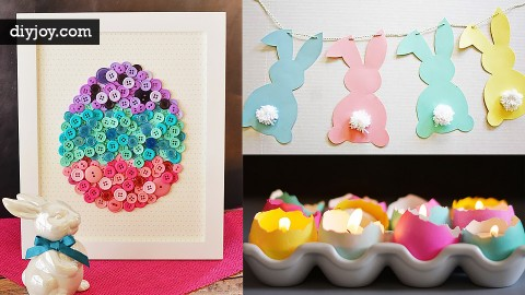 48 DIY Easter Decorations | DIY Joy Projects and Crafts Ideas