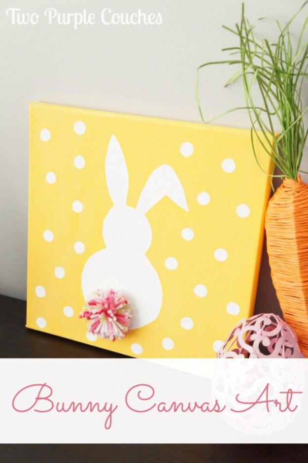 Easter Bunny Canvas Art