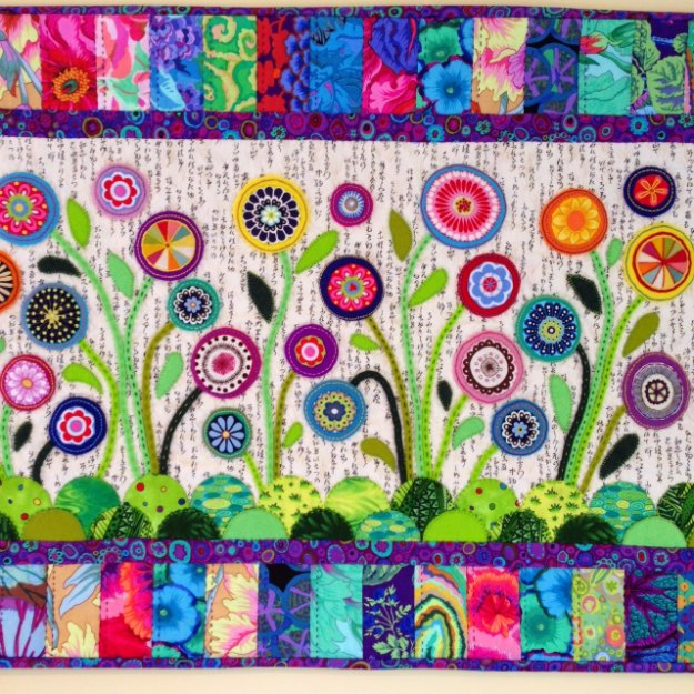 Sewing Projects for The Home - Flower Garden Table Runner - Free DIY ...