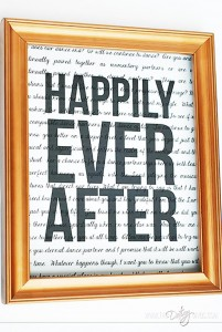 Expensive Looking DIY Wedding Gift Ideas - Framed Print Wedding Gift ...