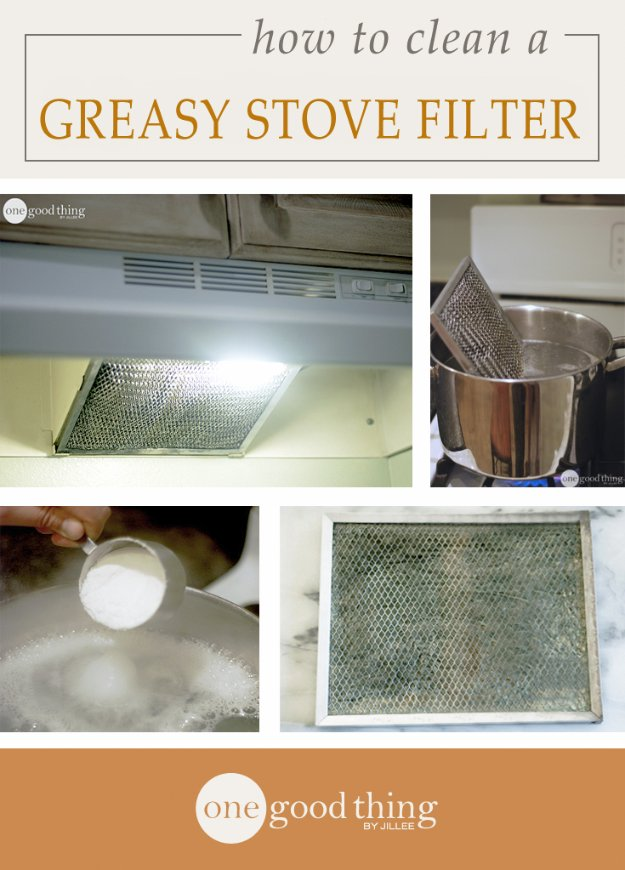 Best Natural Homemade DIY Cleaners and Recipes - Greasy Stove Hood Filter Homemade Recipe Cleaner - All Purposed Home Care and Cleaning with Vinegar, Essential Oils and Other Natural Ingredients For Cleaning Bathroom, Kitchen, Floors, Laundry, Furniture and More