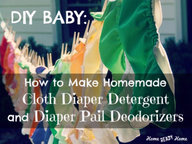 Best Natural Homemade DIY Cleaners and Recipes - Homemade Cloth Diaper Detergent and Diaper Pail Deodorizers - All Purposed Home Care and Cleaning with Vinegar, Essential Oils and Other Natural Ingredients For Cleaning Bathroom, Kitchen, Floors, Laundry, Furniture and More http://diyjoy.com/best-homemade-cleaners-recipes