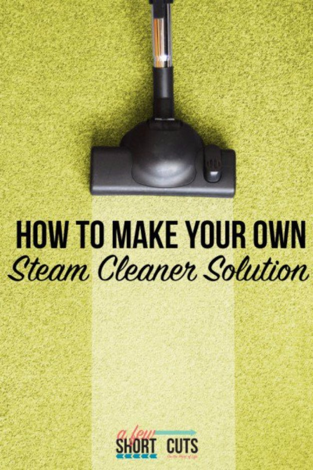 Best Natural Homemade DIY Cleaners and Recipes - Homemade Steam Cleaner Solution - All Purposed Home Care and Cleaning with Vinegar, Essential Oils and Other Natural Ingredients For Cleaning Bathroom, Kitchen, Floors, Laundry, Furniture and More
