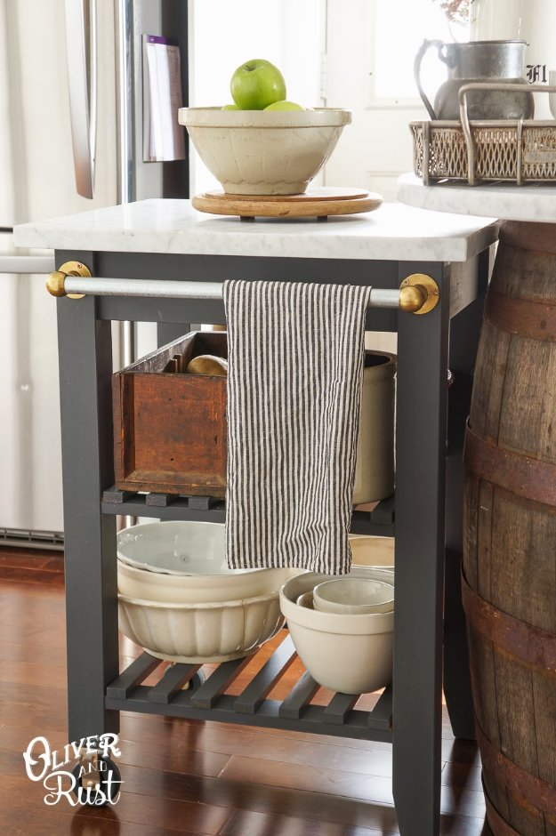 IKEA s and DIY Ideas for Furniture Projects and Home Decor ... Diy Dresser Kitchen Cart on diy butcher block kitchen, diy all wood kitchen, diy corner bench kitchen, diy table kitchen,