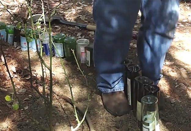 Wine-bottle-edging-for-your-garden-STEP-4