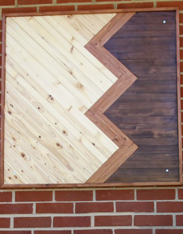 DIY Wall Art Ideas and Do It Yourself Wall Decor for Living Room, Bedroom, Bathroom, Teen Rooms | Wood Chevron Wall Art | Cheap Ideas for Those On A Budget. Paint Awesome Hanging Pictures With These Easy Step By Step Tutorial