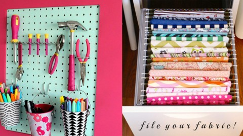 50 Craft Room Organization Ideas | DIY Joy Projects and Crafts Ideas