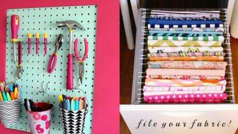 50 Craft Room Organization Ideas | DIY Joy Projects and Crafts Ideas