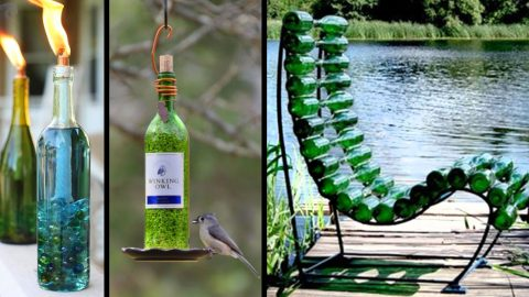 37 Amazing DIY Wine Bottle Crafts | DIY Joy Projects and Crafts Ideas