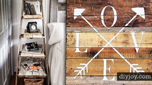DIY Ideas for the Bedroom, 40 Rustic Style Projects