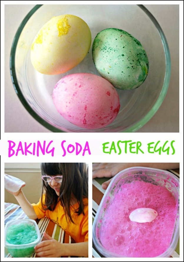 Easter Egg Decorating Ideas - Baking Soda Easter Eggs - Creative Egg Dye Tutorials and Tips - DIY Easter Egg Projects for Kids and Adults http://diyjoy.com/easter-egg-decorating-ideas
