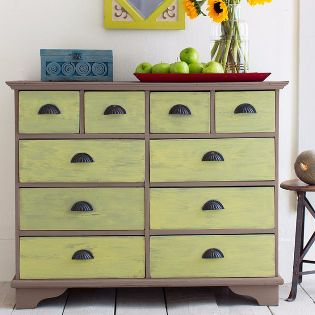 40 Incredibly Creative Chalk Paint Furniture Ideas