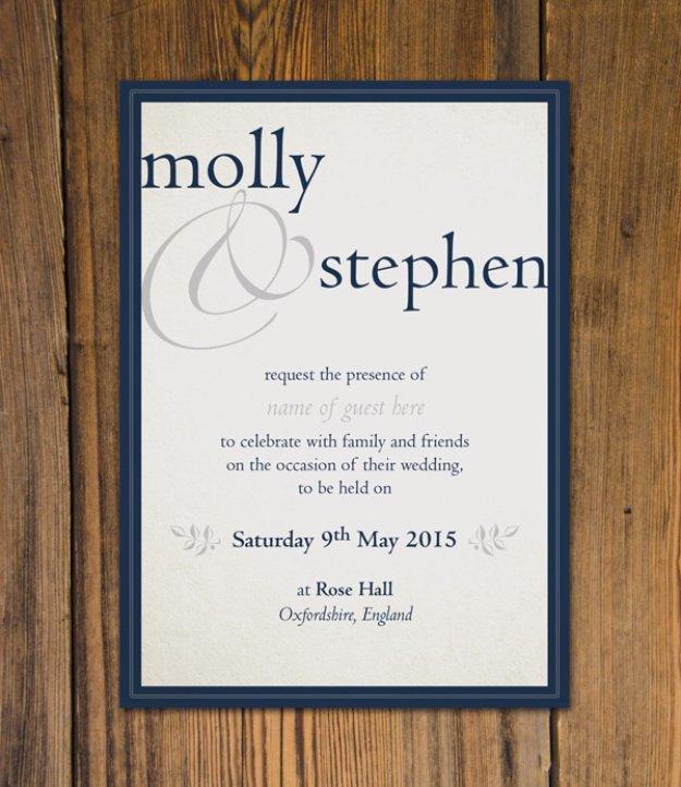 27 fabulous diy wedding invitation ideas for Diy wedding invitations vs professional
