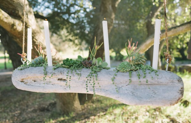 Succulents Crafts and DIY Projects - DIY Driftwood Candelabra - How To Make Fun, Beautiful and Cool Succulent Cactus Wedding Favors, Centerpieces, Mason Jar Ideas, Flower Pots and Decor #crafts #succulents #gardening