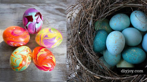 31 Easter Egg Decorating Ideas   DIY Joy Projects and Crafts Ideas