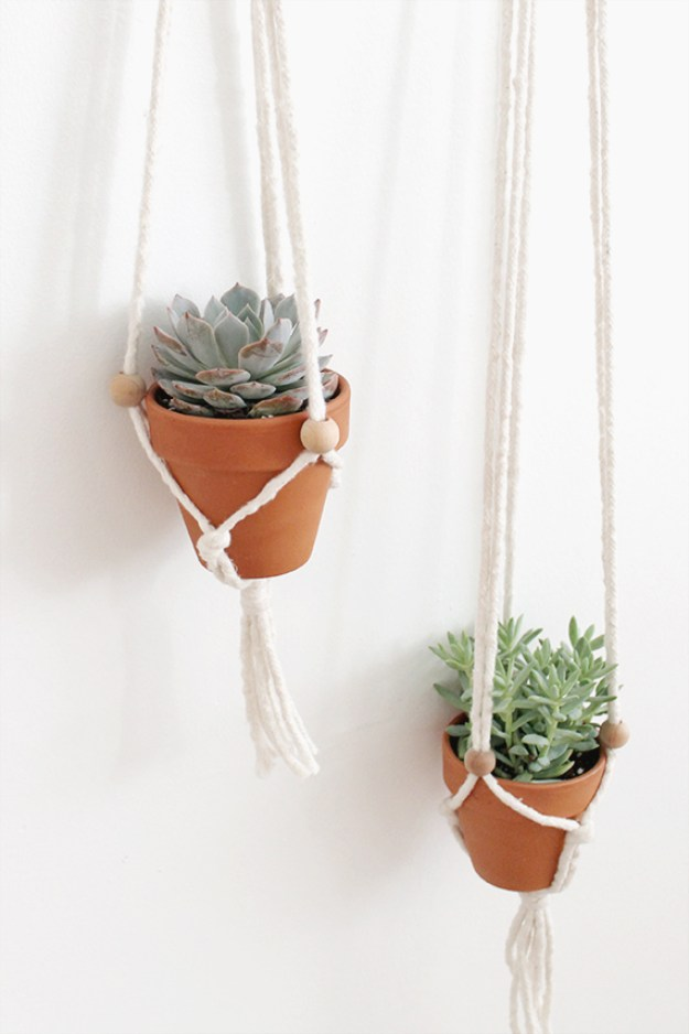 macrame plant hangers diy 32 creative diy succulent crafts and diys for you to 8572