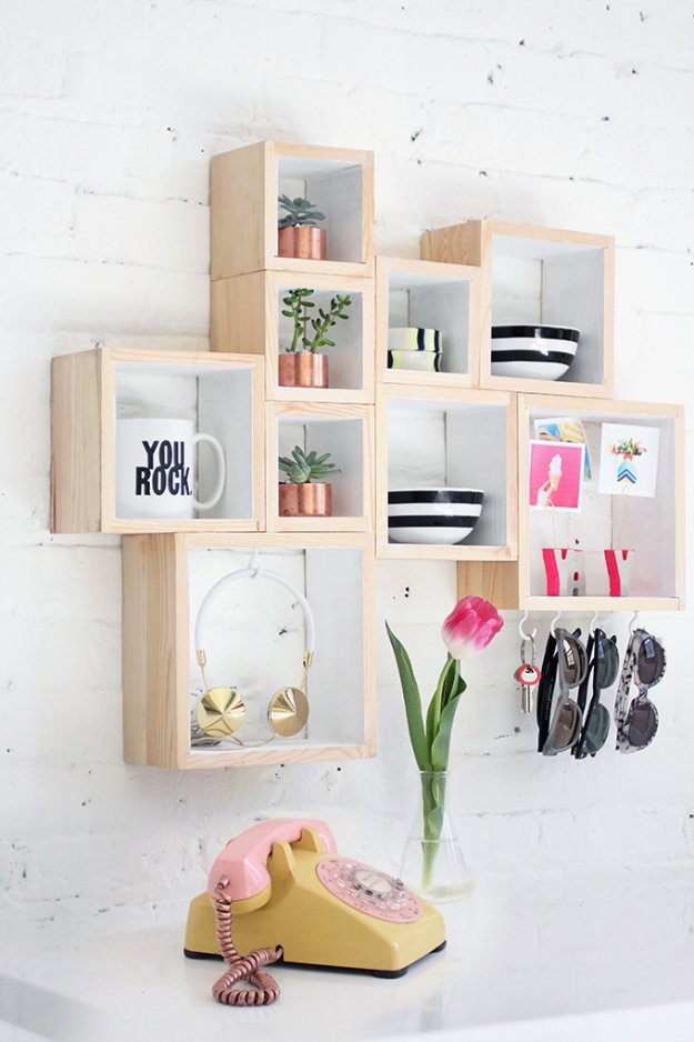30 awesome diy storage ideas diy joy - Diy bedroom storage ideas ...