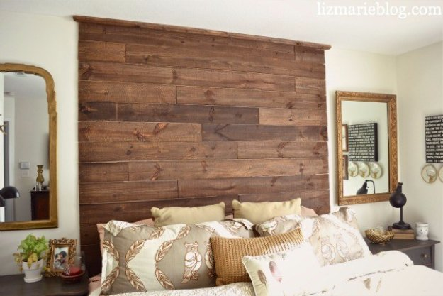 Brilliant DIY Decor Ideas for The Bedroom - DIY Palette Headboard - Rustic and Vintage Decorating Projects for Bedroom Furniture, Bedding, Wall Art, Headboards, Rugs, Tables and Accessories. Tutorials and Step By Step Instructions