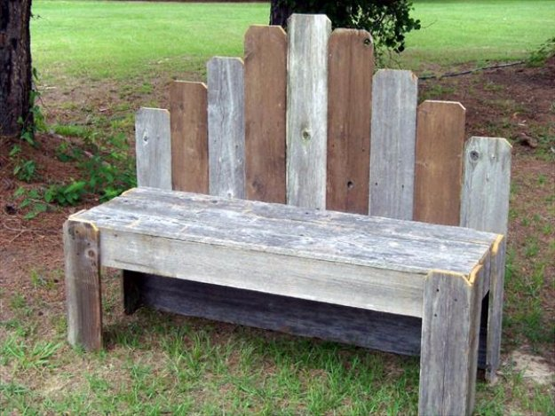 Bench - Best Do It Yourself Projects Made With Wooden Pallets - Indoor ...