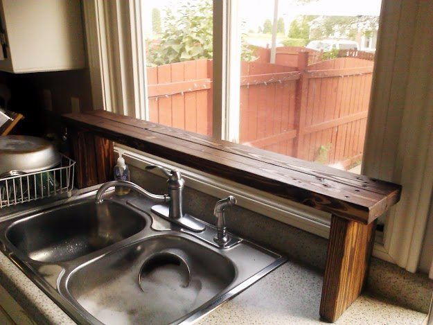 DIY Pallet Furniture Ideas - DIY Pallet Sink Shelf - Best Do It Yourself Projects Made With Wooden Pallets - Indoor and Outdoor, Bedroom, Living Room, Patio. Coffee Table, Couch, Dining Tables, Shelves, Racks and Benches