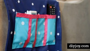 Clever DIY Sofa Caddy Keeps TV Remotes Within Reach!
