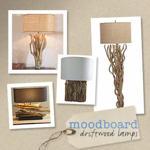 Brilliant DIY Decor Ideas for The Bedroom - Driftwood Table Lamp - Rustic and Vintage Decorating Projects for Bedroom Furniture, Bedding, Wall Art, Headboards, Rugs, Tables and Accessories. Tutorials and Step By Step Instructions