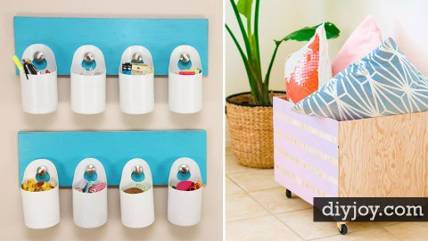 30 Creative DIY Storage Ideas | DIY Joy Projects and Crafts Ideas