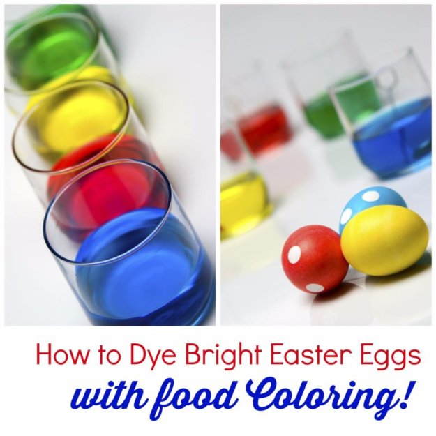 How to Dye Bright Easter Eggs with Food Coloring.jpe - DIY Joy