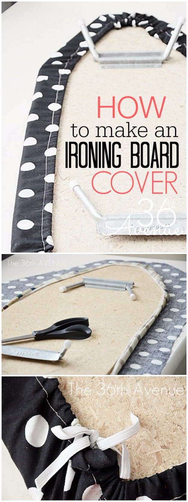 Easy Sewing Projects to Sell - Ironing Board Cover - DIY Sewing Ideas for Your Craft Business. Make Money with these Simple Gift Ideas, Free Patterns #sewing #crafts