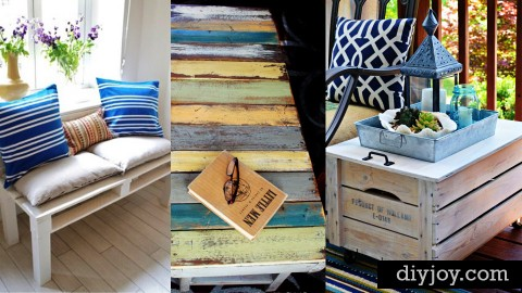 50 DIY Pallet Furniture Ideas | DIY Joy Projects and Crafts Ideas