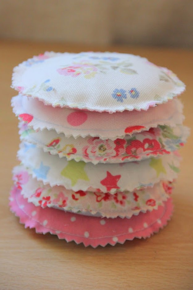 Cool Crafts You Can Make With Fabric Scraps - Pocket Warmers - Creative DIY Sewing Projects and Things to Do With Leftover Fabric  Scrap Crafts #sewing #fabric #crafts