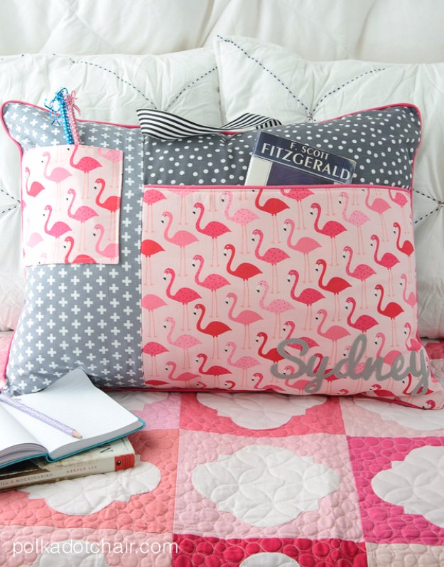 Easy Sewing Projects to Sell - Study Pillow Sewing Pattern - DIY Sewing Ideas for Your Craft Business. Make Money with these Simple Gift Ideas, Free Patterns #sewing #crafts
